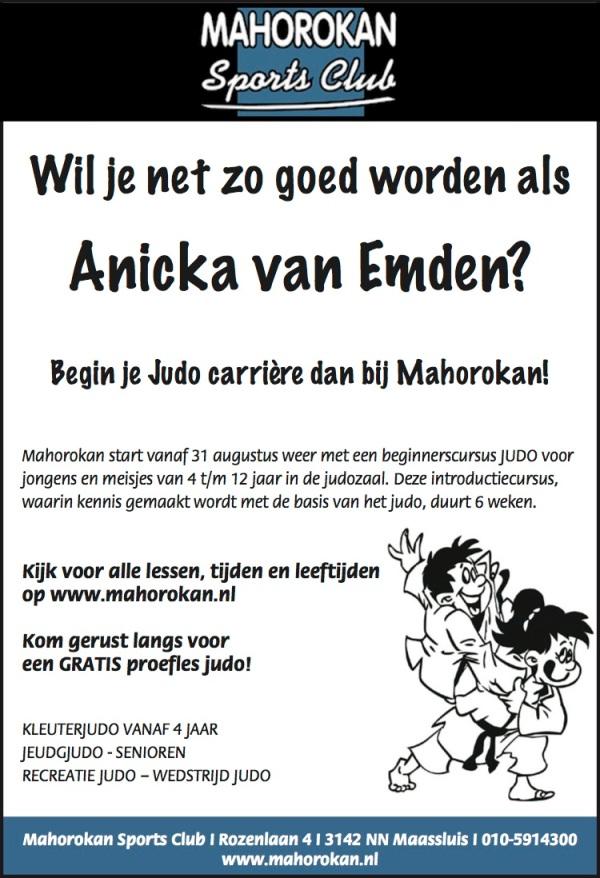 Mahorokan Anicka judo adv